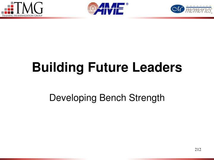 Building Future Leaders