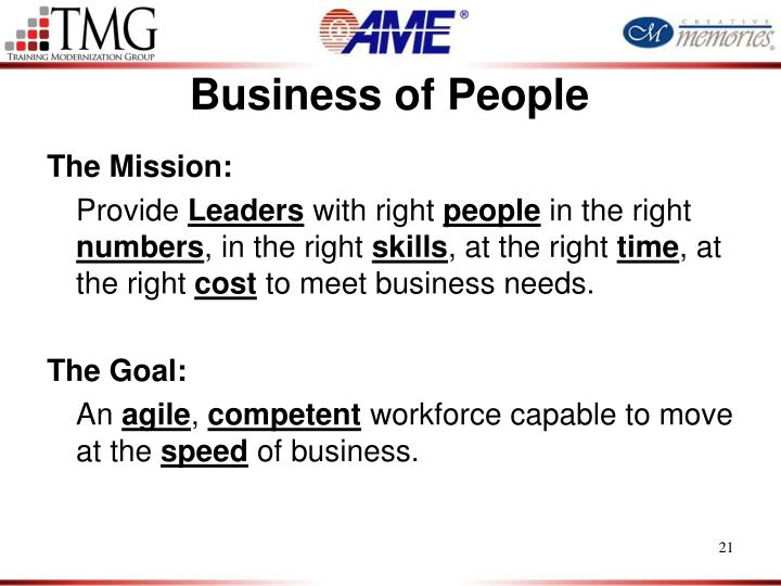 Business of People