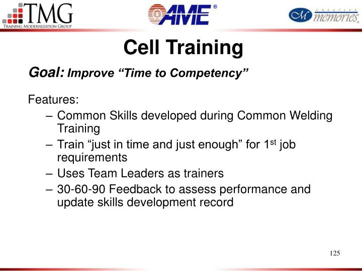 Cell Training
