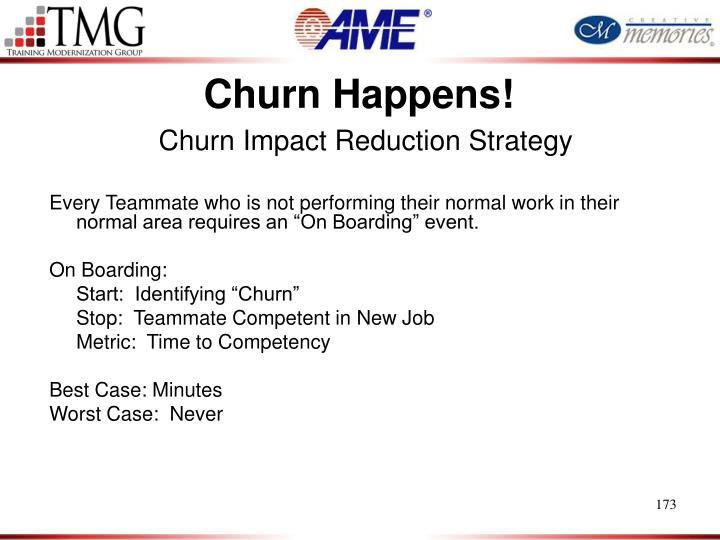 Churn Happens!