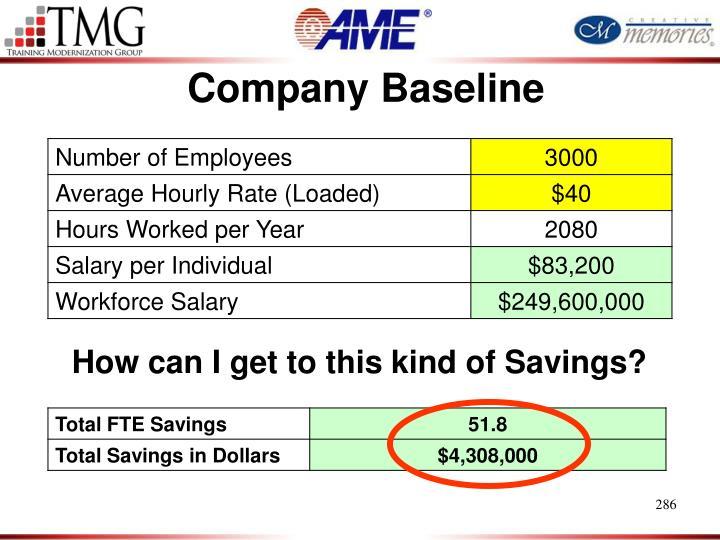 Company Baseline