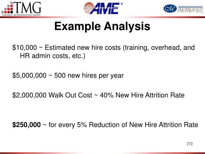 Example Analysis