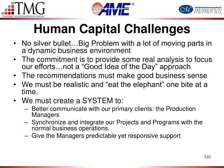 Human Capital Challenges