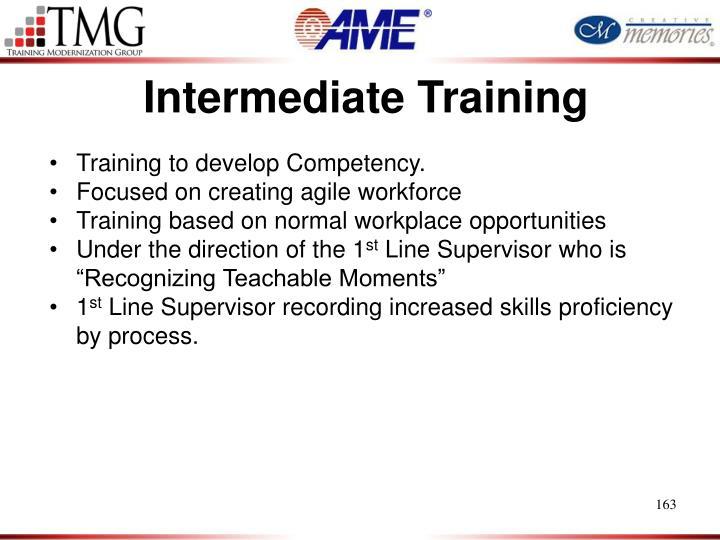 Intermediate Training