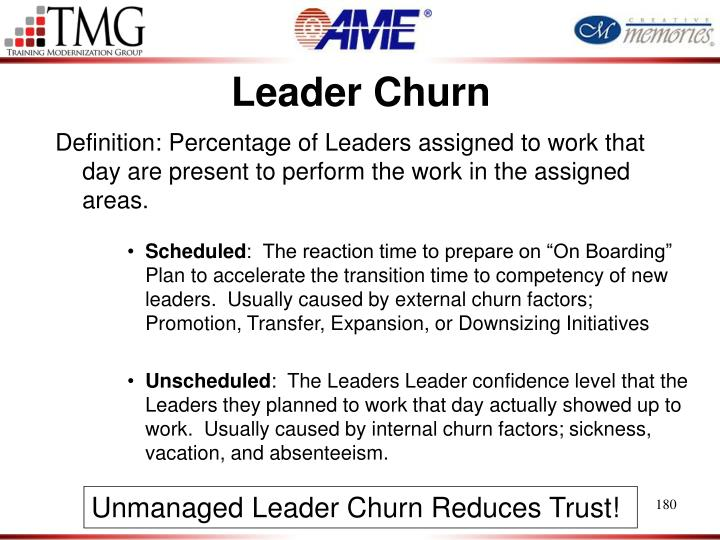 Leader Churn