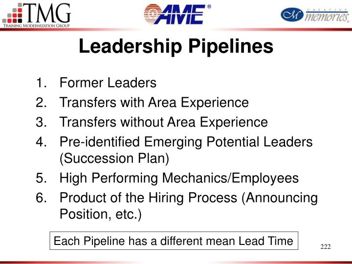 Leadership Pipelines