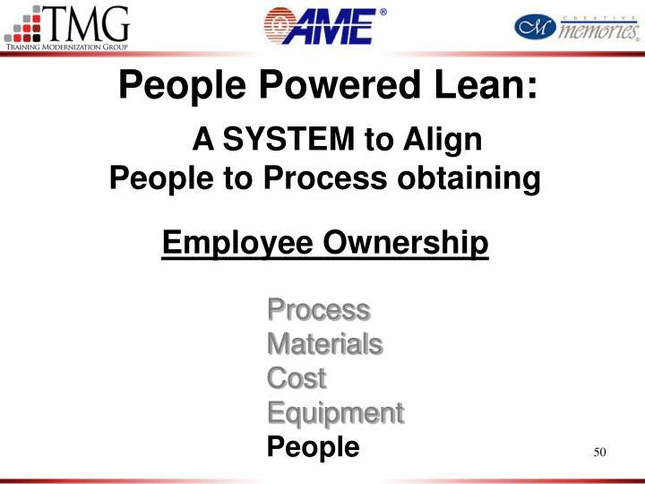People Powered Lean: