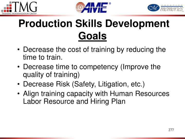 Production Skills Development