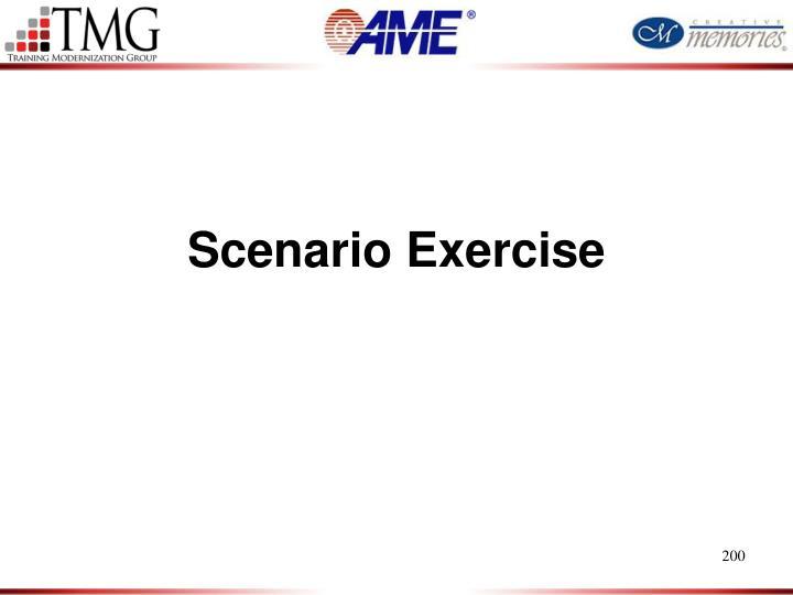 Scenario Exercise
