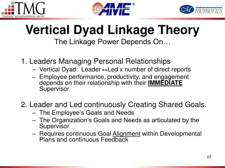 Vertical Dyad Linkage Theory