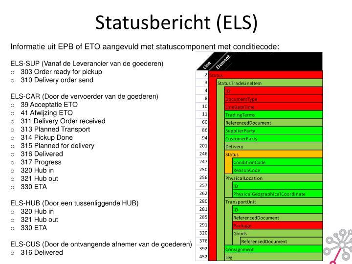 Statusbericht (ELS)