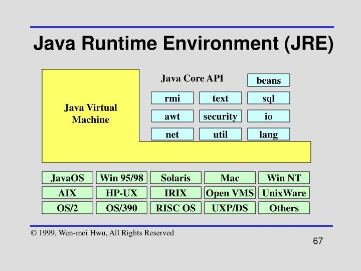 Java Runtime Environment (JRE)