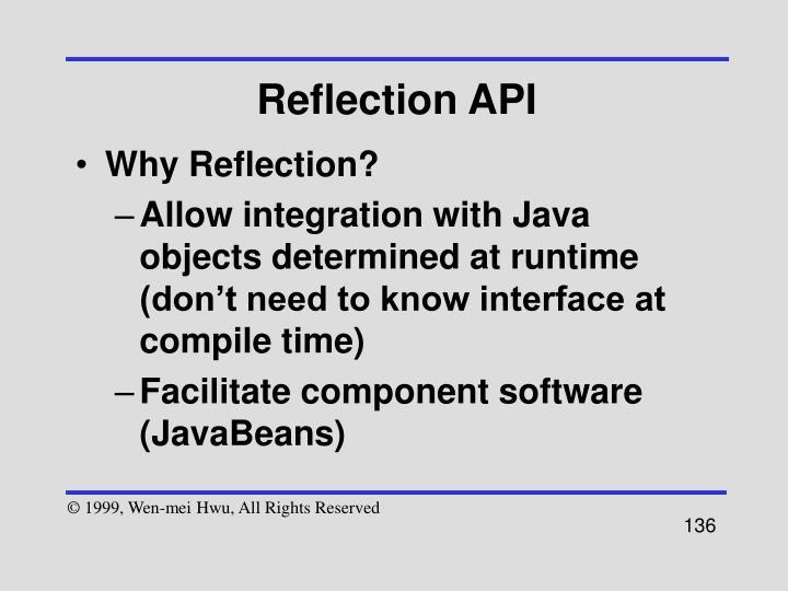 Reflection API