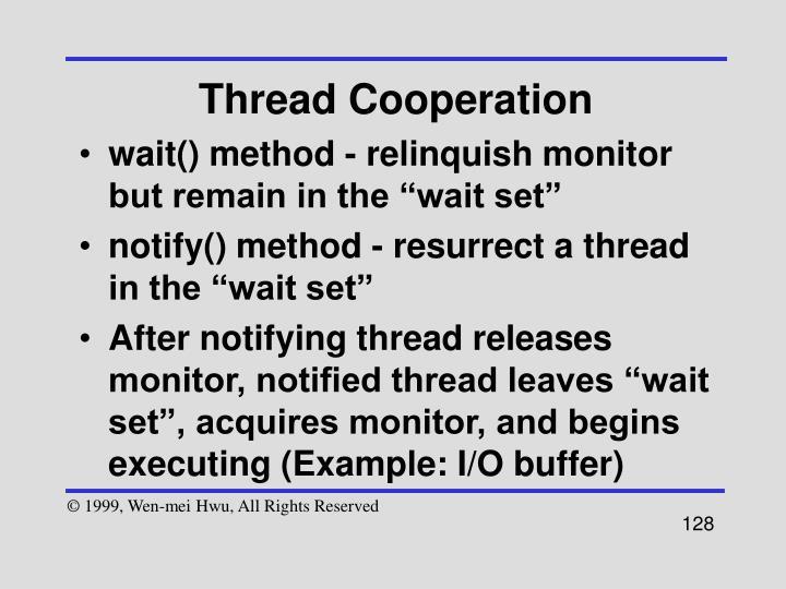 Thread Cooperation