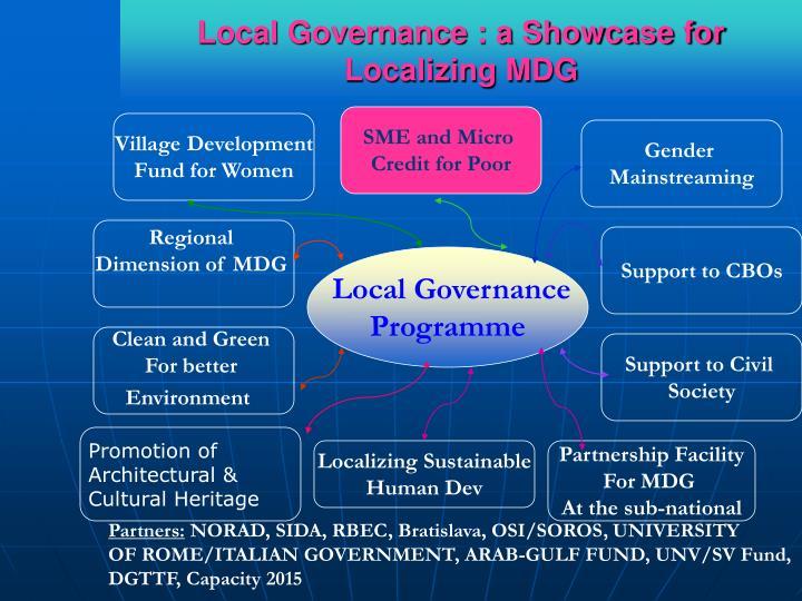 Local Governance : a Showcase for