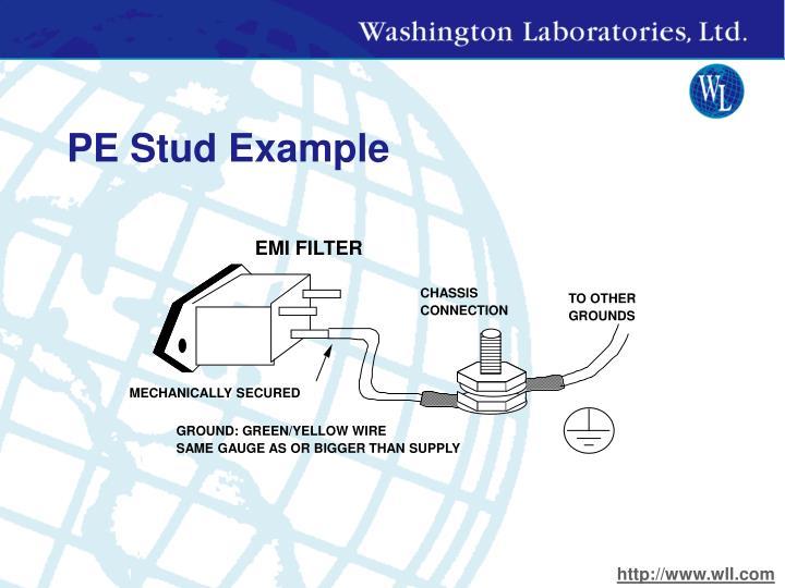 PE Stud Example