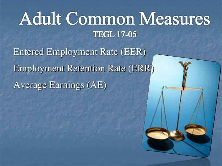 Adult Common Measures