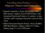low voltage panel products controls digicon timers and controllers