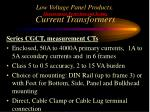 low voltage panel products measurement protection and testing current transformers