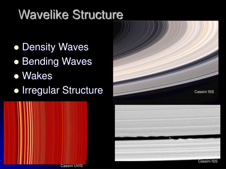 Wavelike Structure
