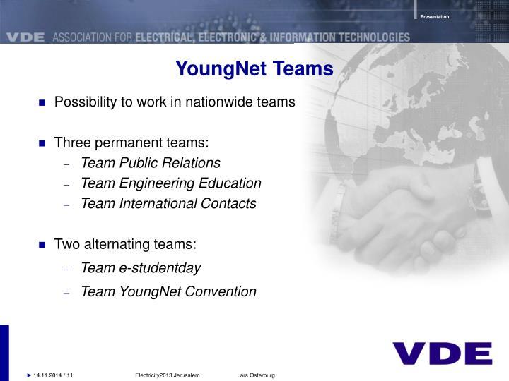 YoungNet Teams