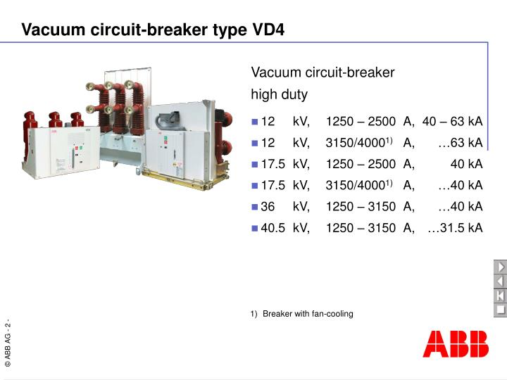 Vacuum circuit-breaker