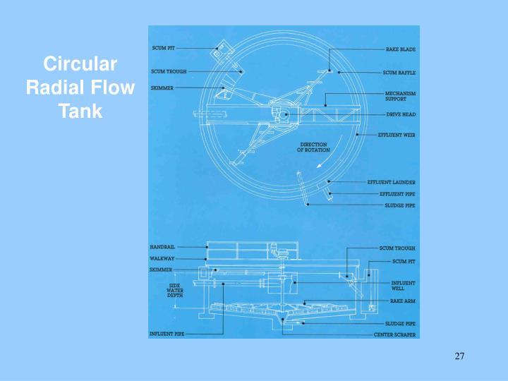 Circular Radial Flow Tank