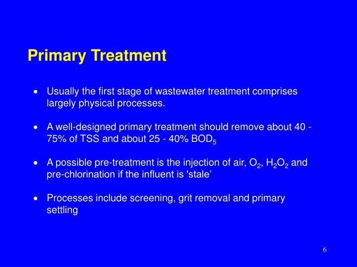 Primary Treatment