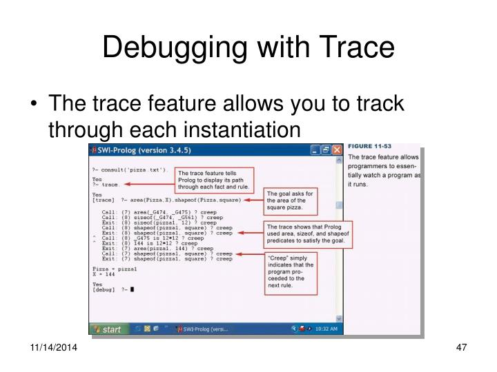 Debugging with Trace