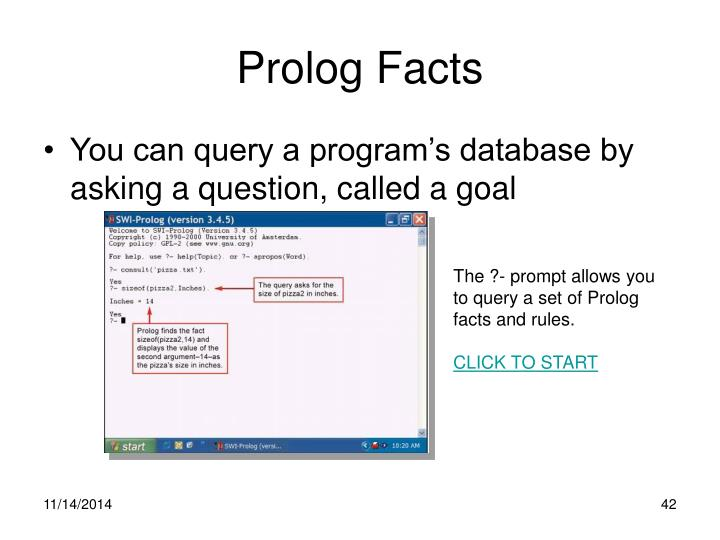 Prolog Facts
