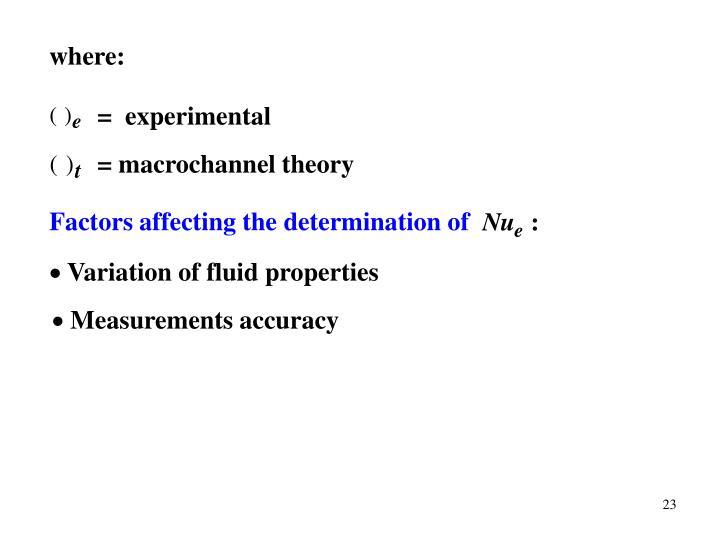 =  experimental