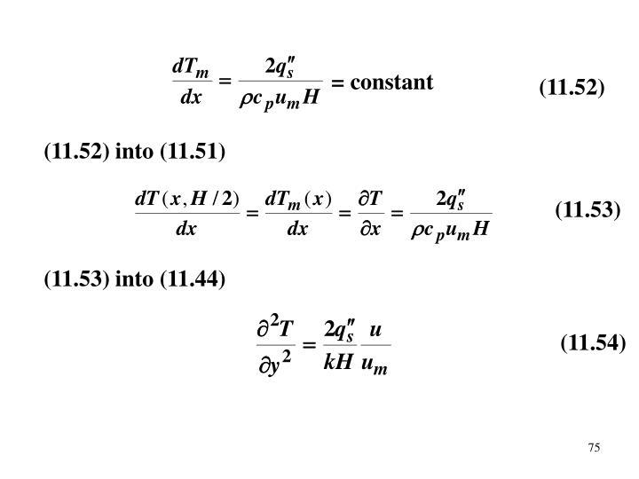 = constant