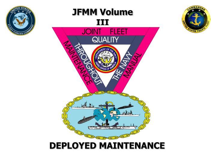 JFMM Volume III