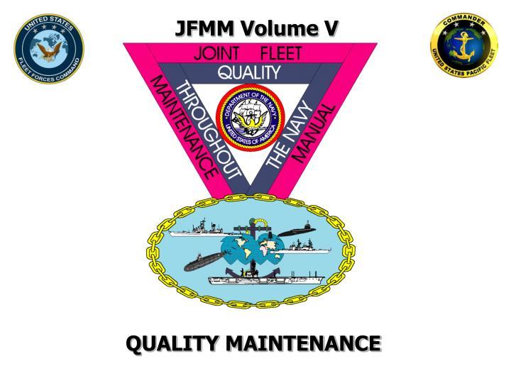 JFMM Volume V