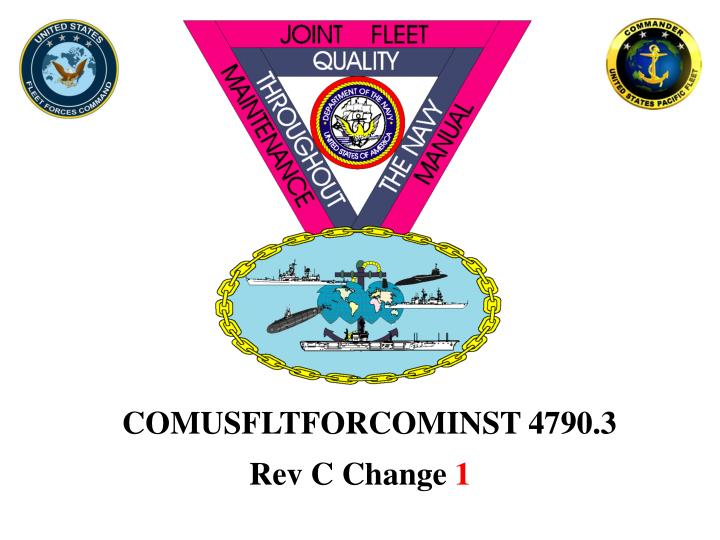 COMUSFLTFORCOMINST 4790.3
