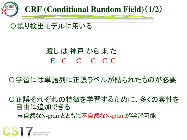 CRF (Conditional Random Field)