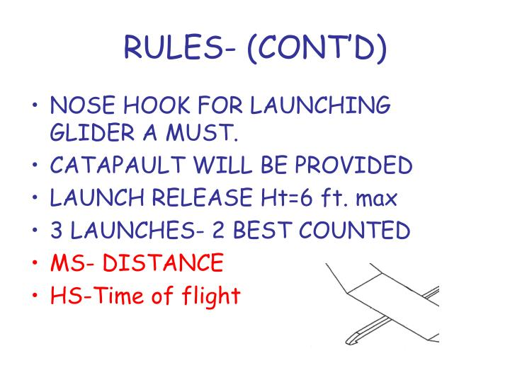 RULES- (CONT'D)