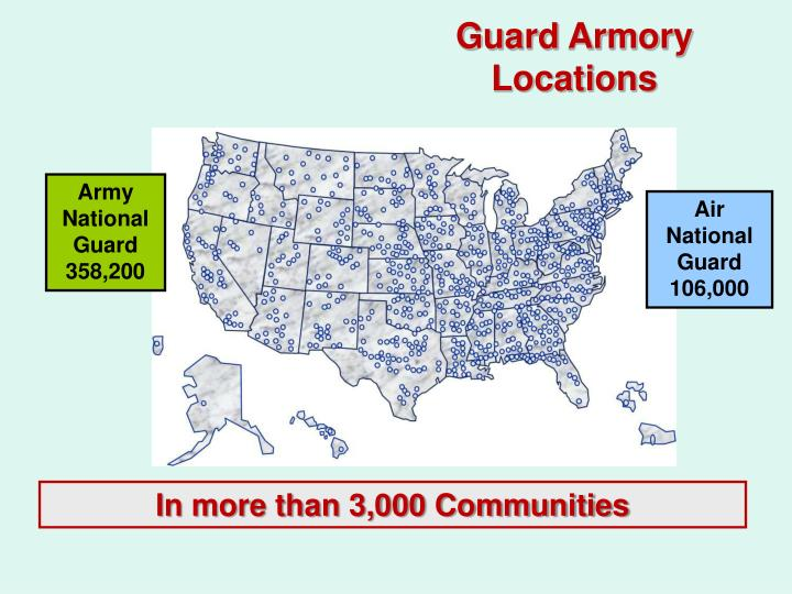 Guard Armory Locations