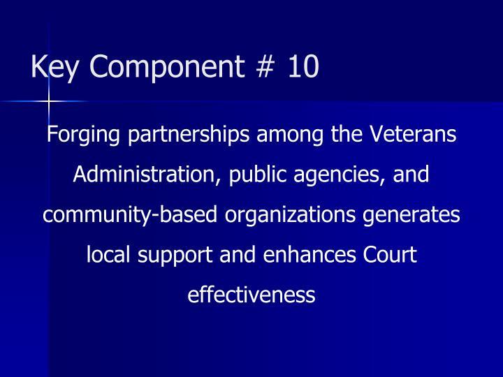 Key Component # 10
