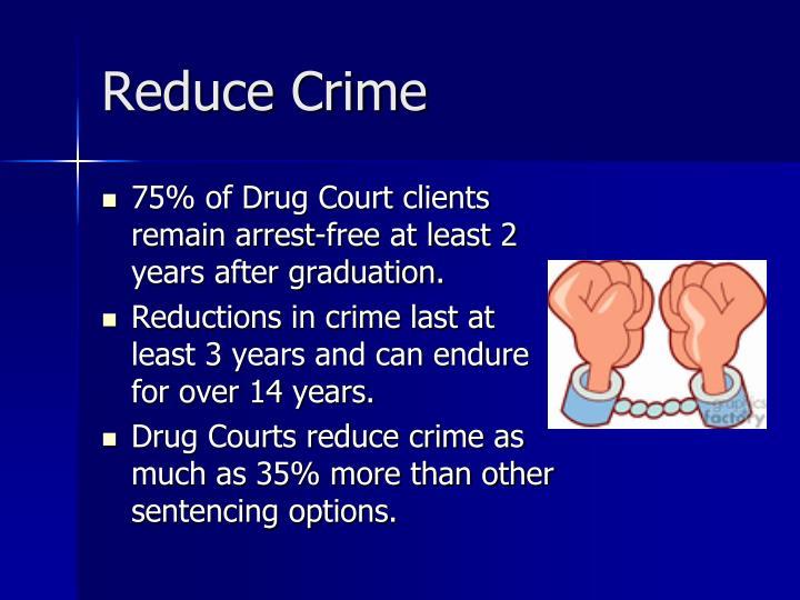 Reduce Crime
