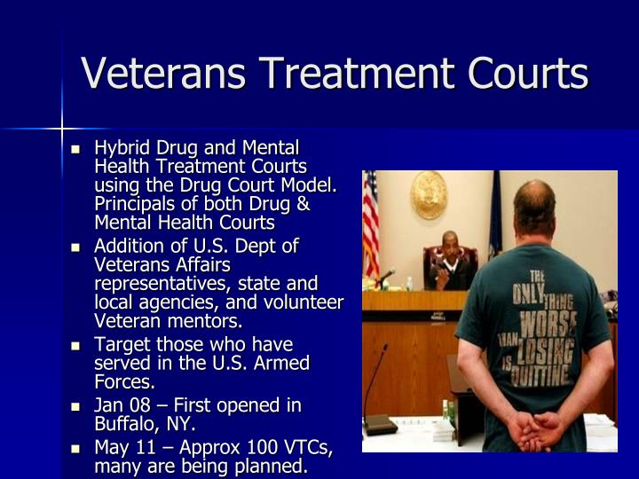 Veterans Treatment Courts