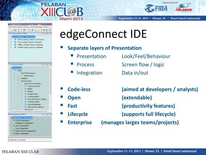 edgeConnect IDE