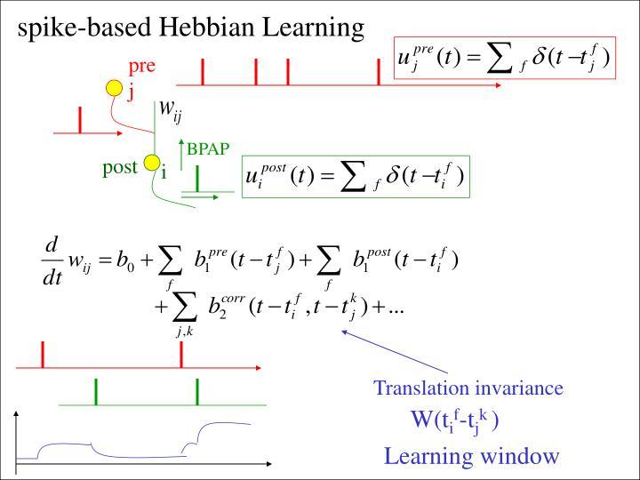 Translation invariance