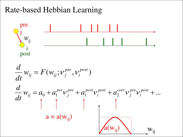 Rate-based Hebbian Learning