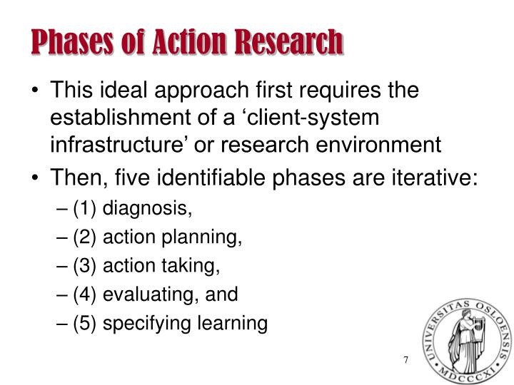 Phases of Action Research