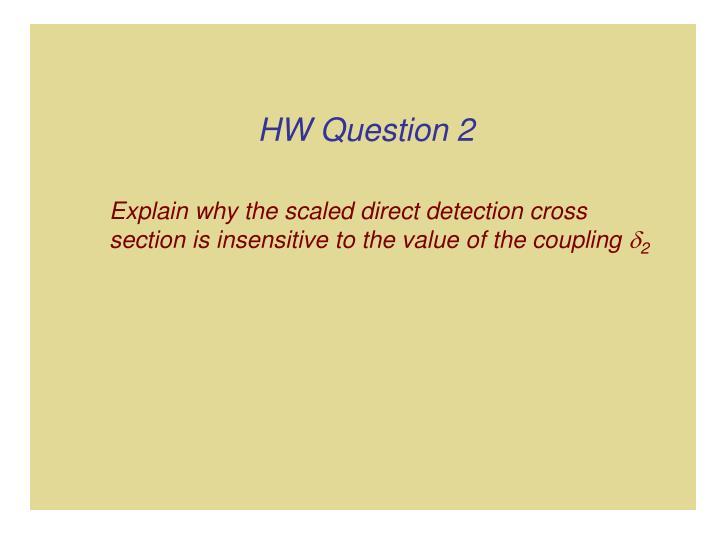 HW Question 2