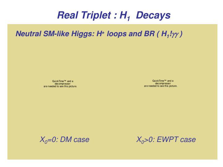 Real Triplet : H