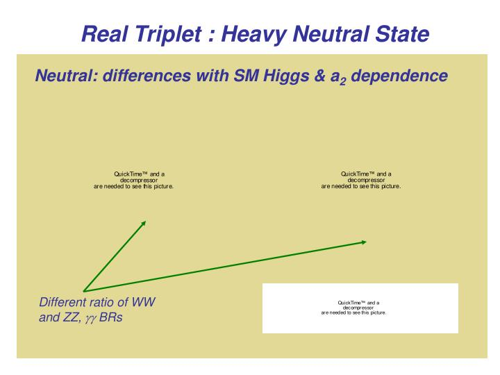 Real Triplet : Heavy Neutral State