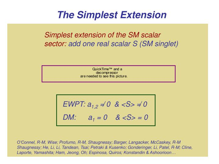 Stable S (dark matter?)
