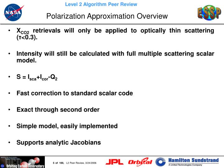 Polarization Approximation Overview